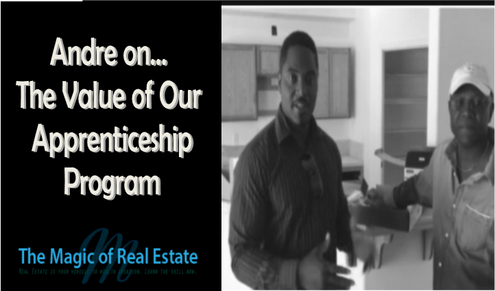 Andre Williams on Real Estate Apprenticeship