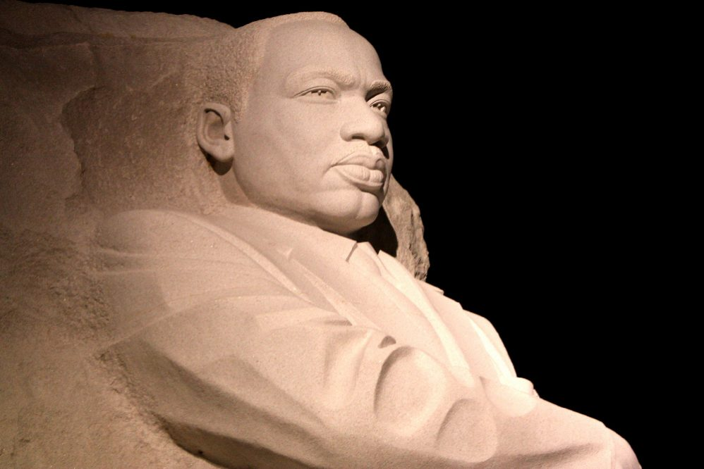 Martin Luther King Jr Statue